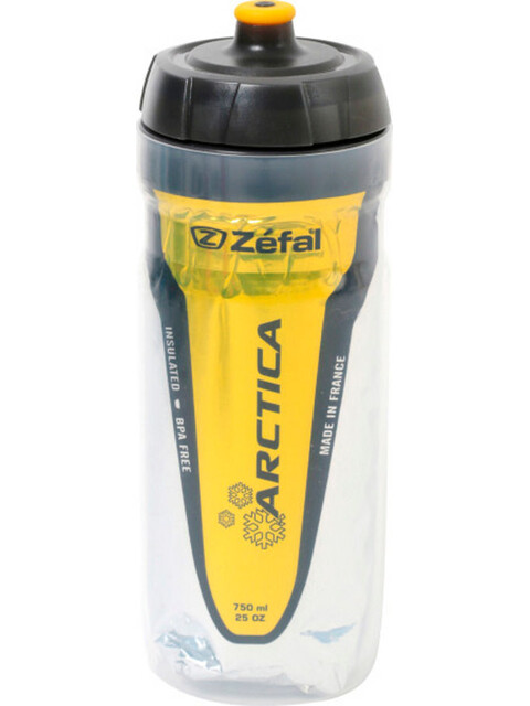 Zefal Arctica 55 Drink Bottle 550 ml yellow